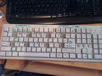 """""""Pianino"""" z klawiatury komputerowej PS/2"""
