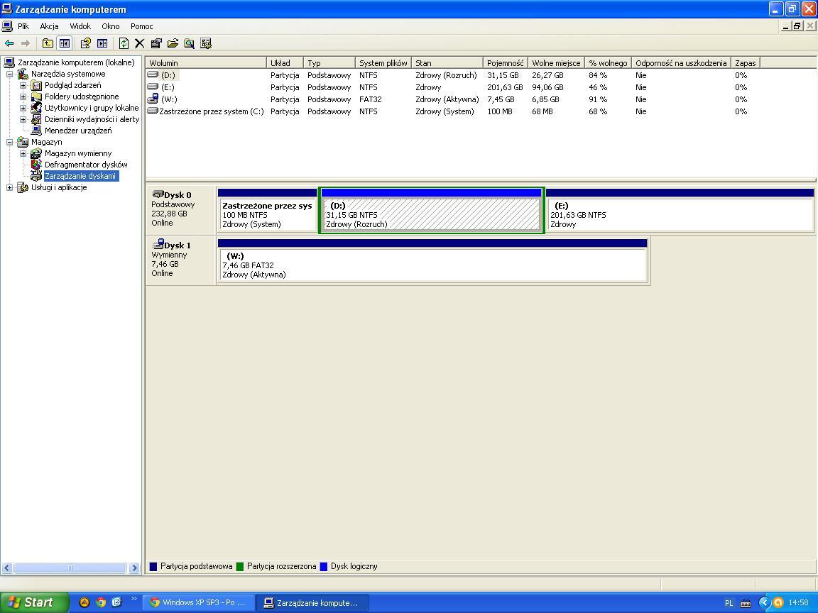 Windows XP SP3 - Po instalacji z USB nie mog� go odpali� bez pendrive.