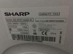 Pralka Bosch WAE24360PL/05 nie działa sygnał dźwiękowy