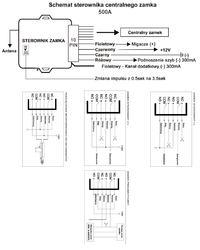 Citroen C2 I gen. - C2 Connection of the Motokey lock control panel.