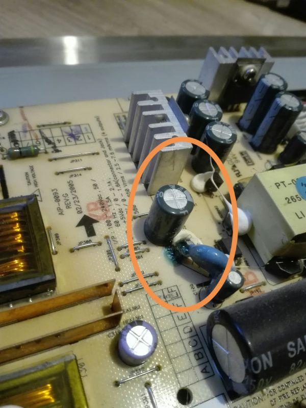 LG 190s6 2005r powiadomienie c - Allert: Security flag off