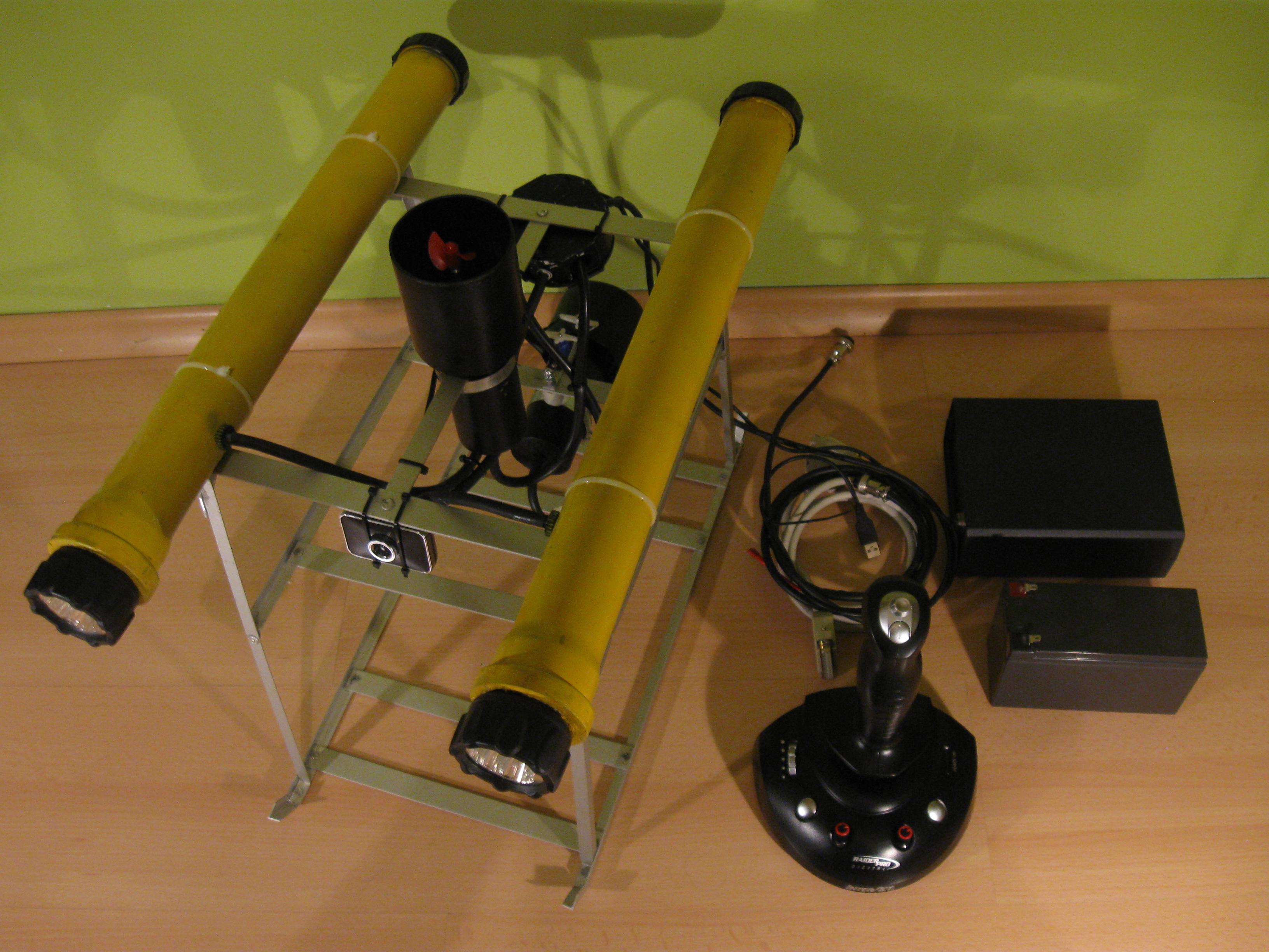 Prototyp robota podwodnego