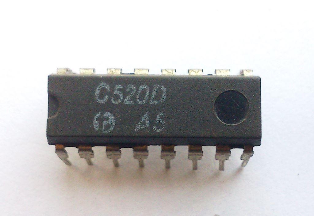 [Sprzedam] Uk�ad scalony C520D , AD2020 , CA3162 (Woltomierz, konwerter A/C)