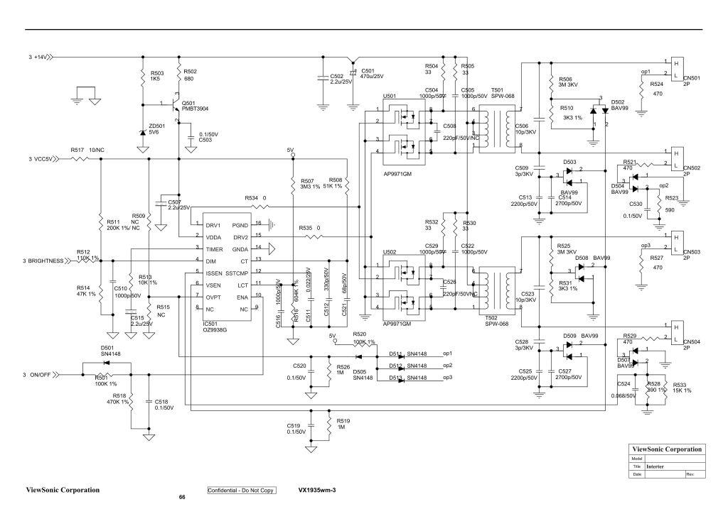 LG L192WS - Szwankuje po�owa inwertera