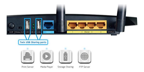 Konfiguracja sieci - LAN + interent ADSL w routerze TP-LINK WDR4300