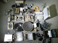 [Sprzedam]Zestaw - urządzenia głośniki części różne obudowy wskaźniki