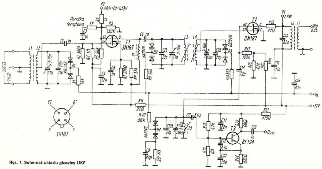 G�owica UKF 88-108 z RE 1-2/1984 - pytania o zmiany