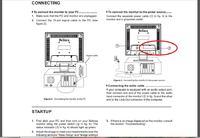 monitor Belinea 101711 + tuner - Połączenie monitora z tunerem dvb-t