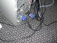 Połączenie monitora i telewizora do komputera