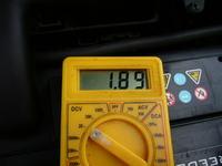 Laguna II 1.9 dci - żółta kontrolka od świecy zarowej