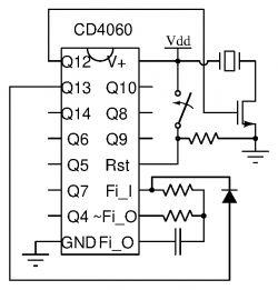 Prosty układ z buzzerem na przycisk z kondensatorem