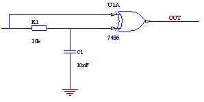 Eliminowanie drgań na stykach (metoda nieprogramowa)
