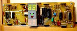 Zegar warsztatowy na MC1206