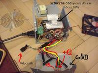 Logic-400ATX - zwarcie miedzy radiatorem a +5,+12 i GND ?