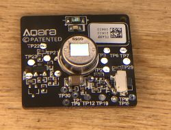 Czujnik ruchu Aqara RTCGQ11LM - wnętrze, modyfikacja czasu odświeżania