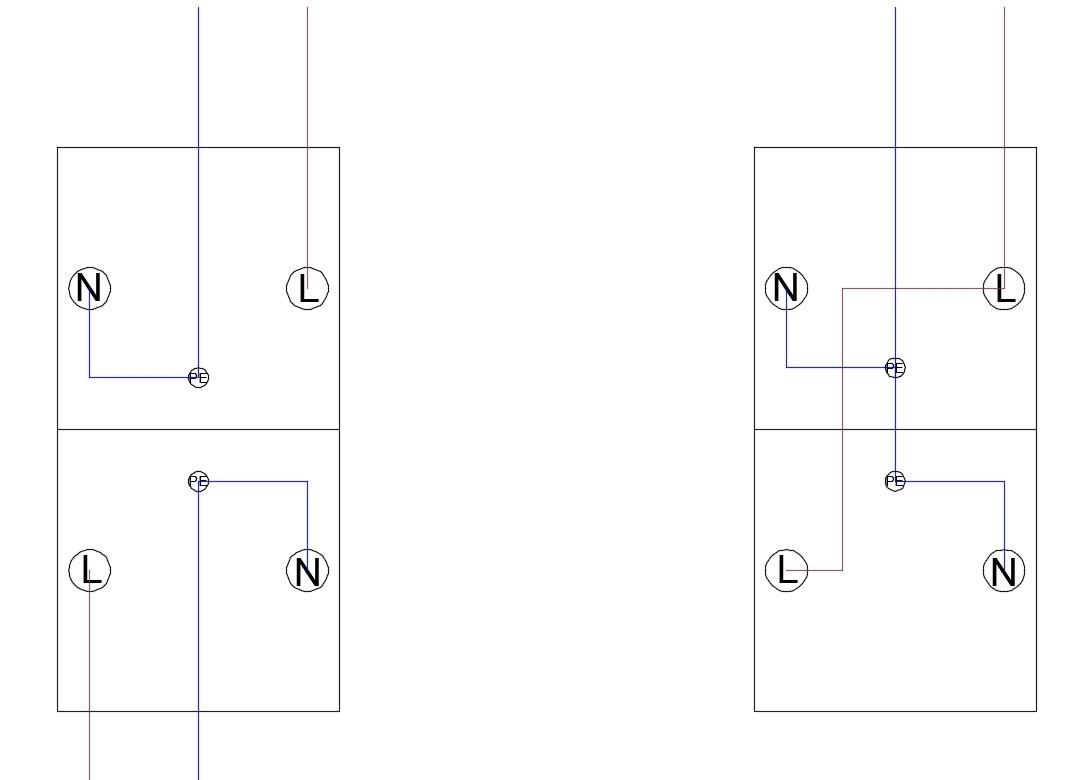 podłączyć serie gniazd elektrycznych