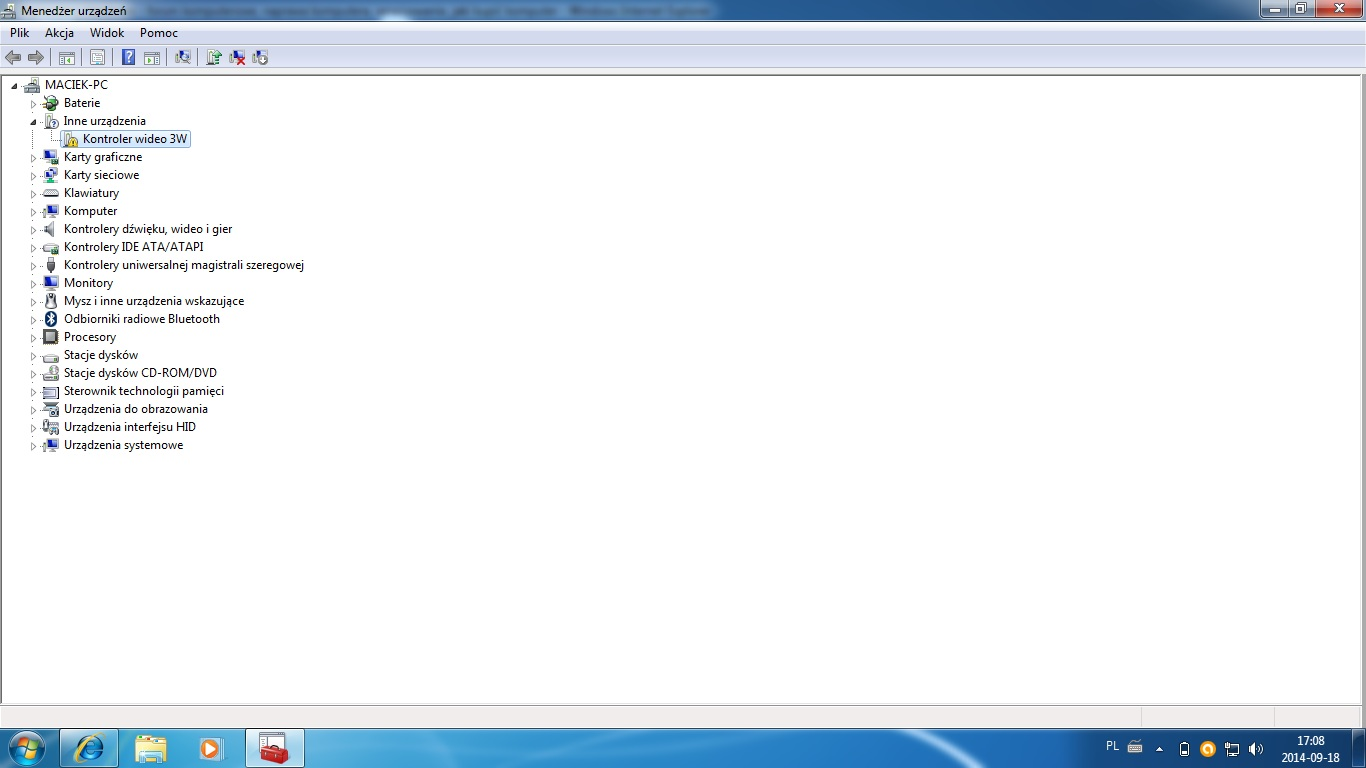 Acer Aspire E5-571G - Kontroler Video 3W