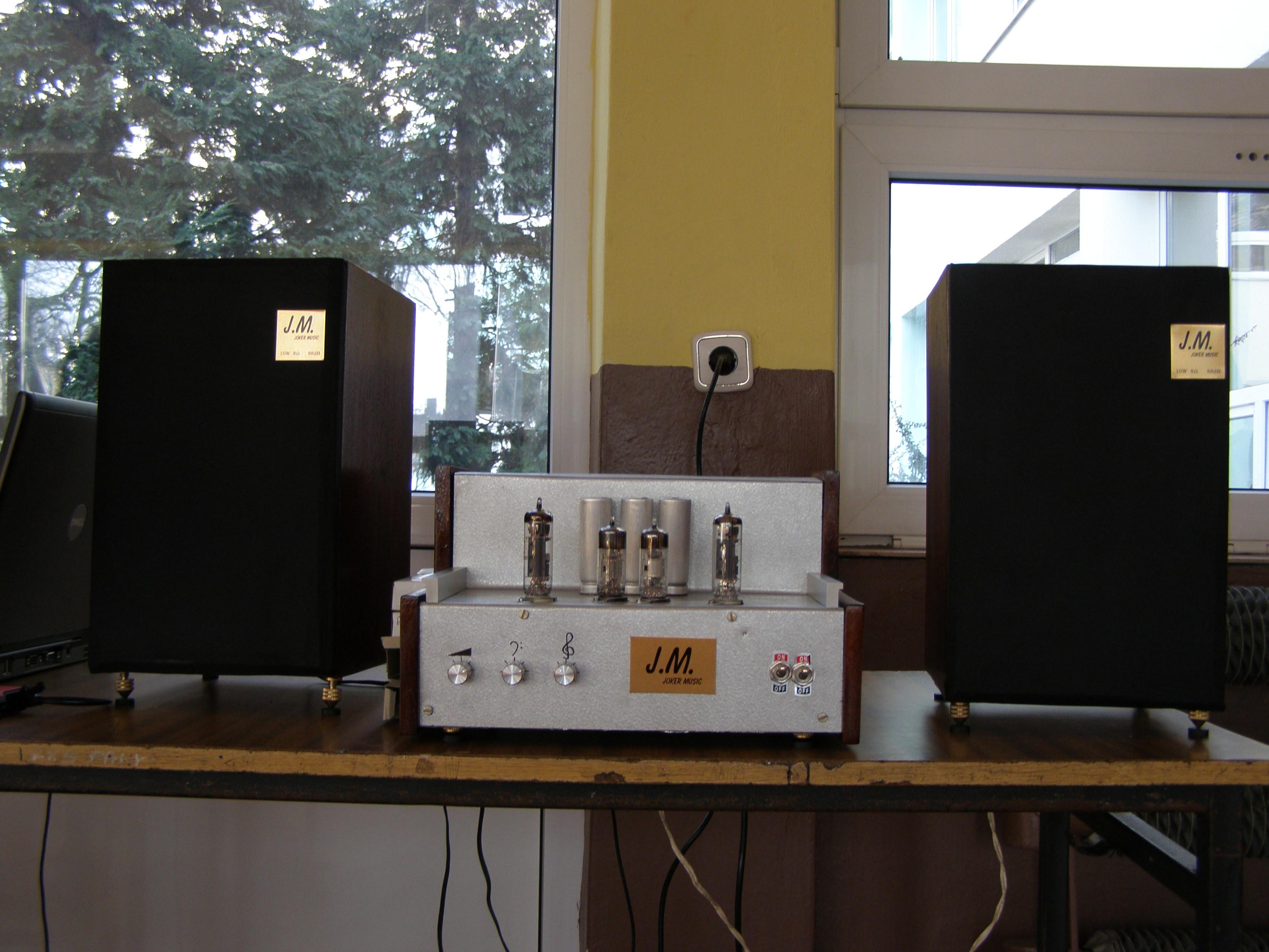 Bud�etowy wzmacniacz lampowy stereofoniczny ECL86 i EF80