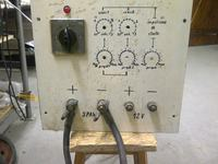 Spawarka transformatorowa - wyzwalanie zabezpieczeń. Konsultacja schematu