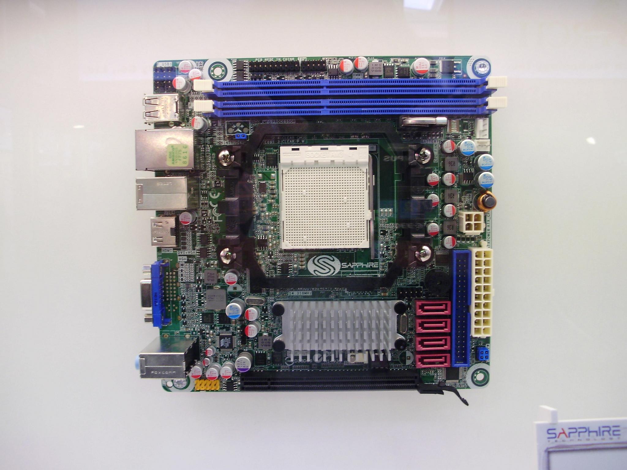 Sapphire Pure Mini 785G mITX - reanimacja