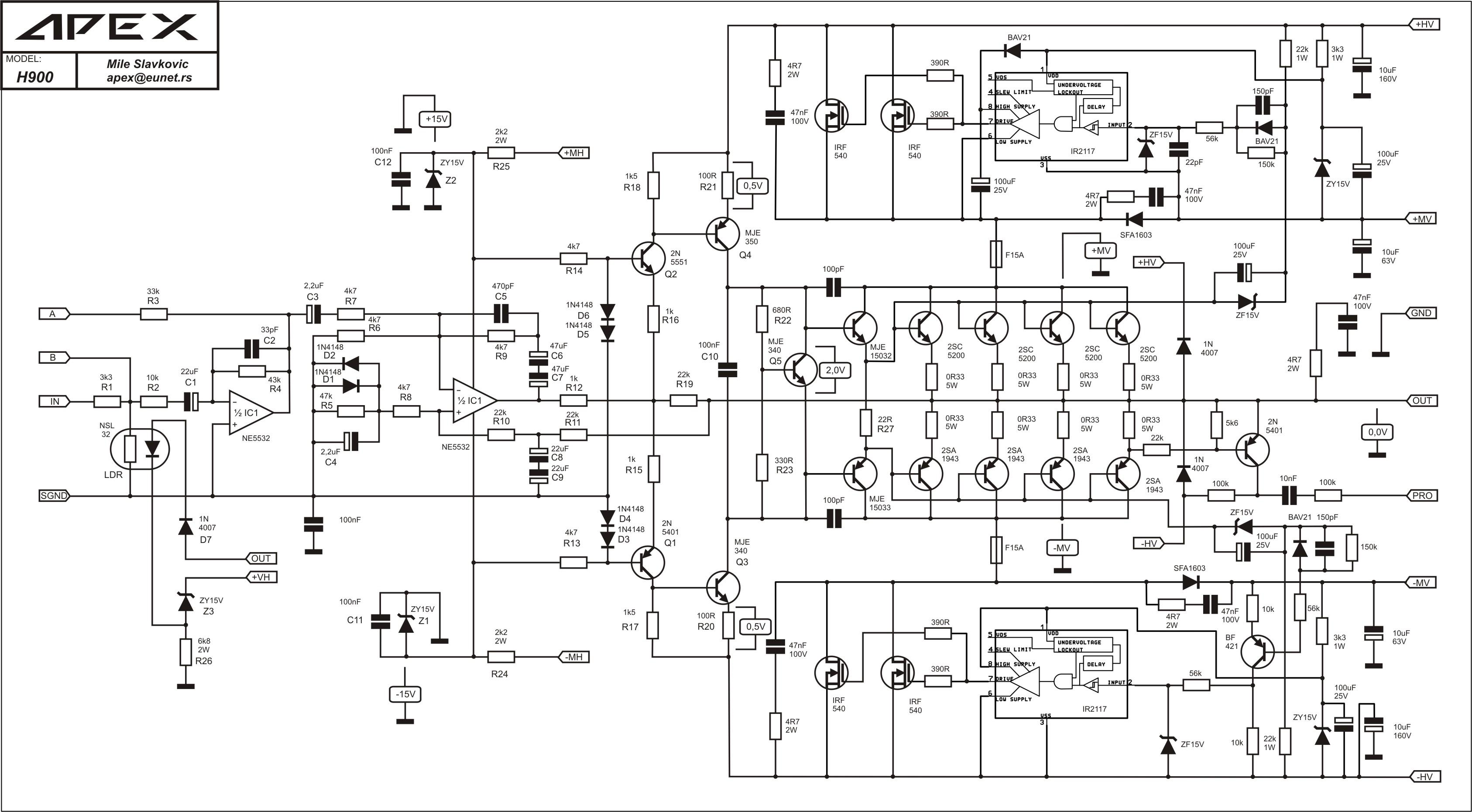 2sc5200  2sa1943 jako tranzystory streuj u0105ce
