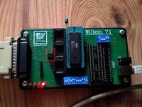 Programator Willem 7.1 - błąd przy programowaniu pamięci Flash 28F010