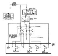 Mitsubishi Eclipse - Podłączenie przekaźnika pompy paliwa