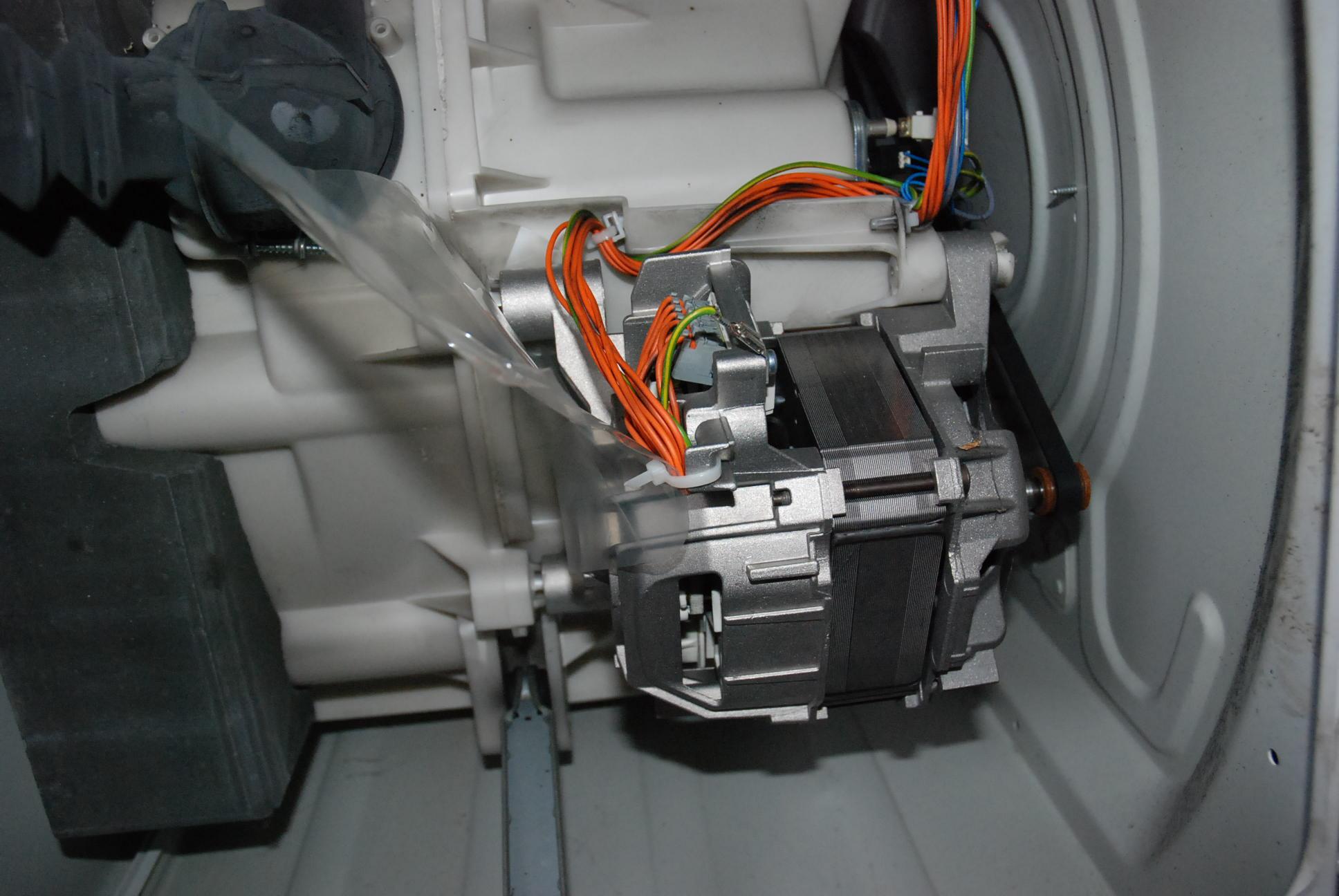 Silnik od pralki Bosch - jak pod��czy�, jak regulowa� obroty