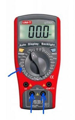 Jak sprawdzić amperaż multimetrem?