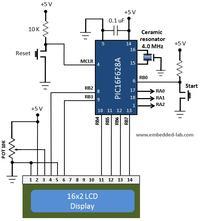 Prosty miernik pojemności kondensatorów na PIC16F628A