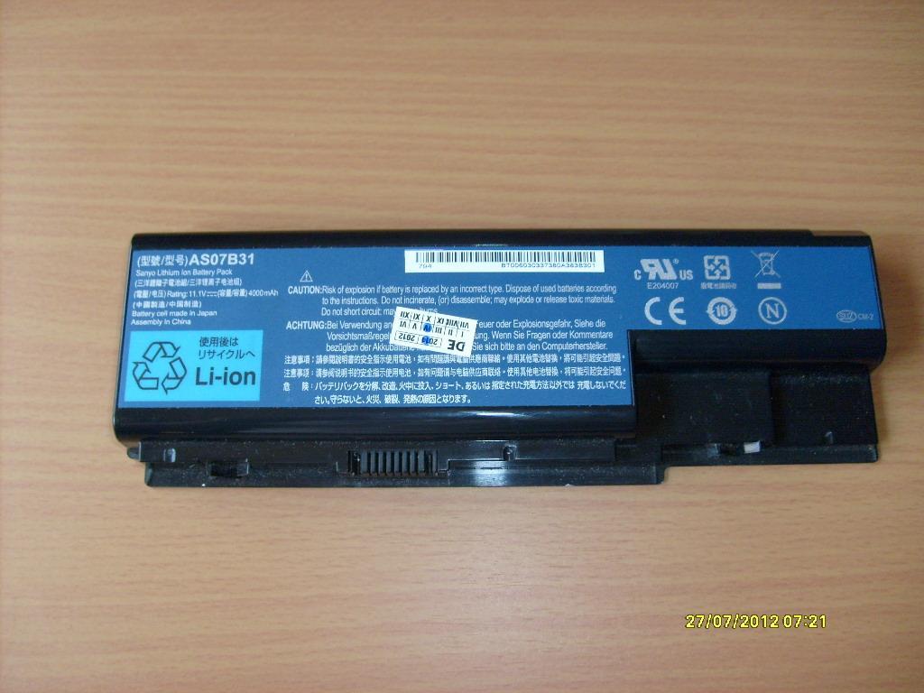 Aspire 5720z - Czy b�dzie pasowa� taka bateria? Acer Aspire 5720z