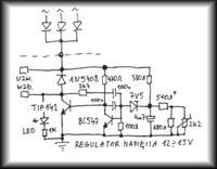 Elektroniczny regulator alternatora (ładowania)