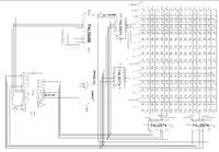 Sterowanie Tablicą LED 16x16x9 na 74LS574