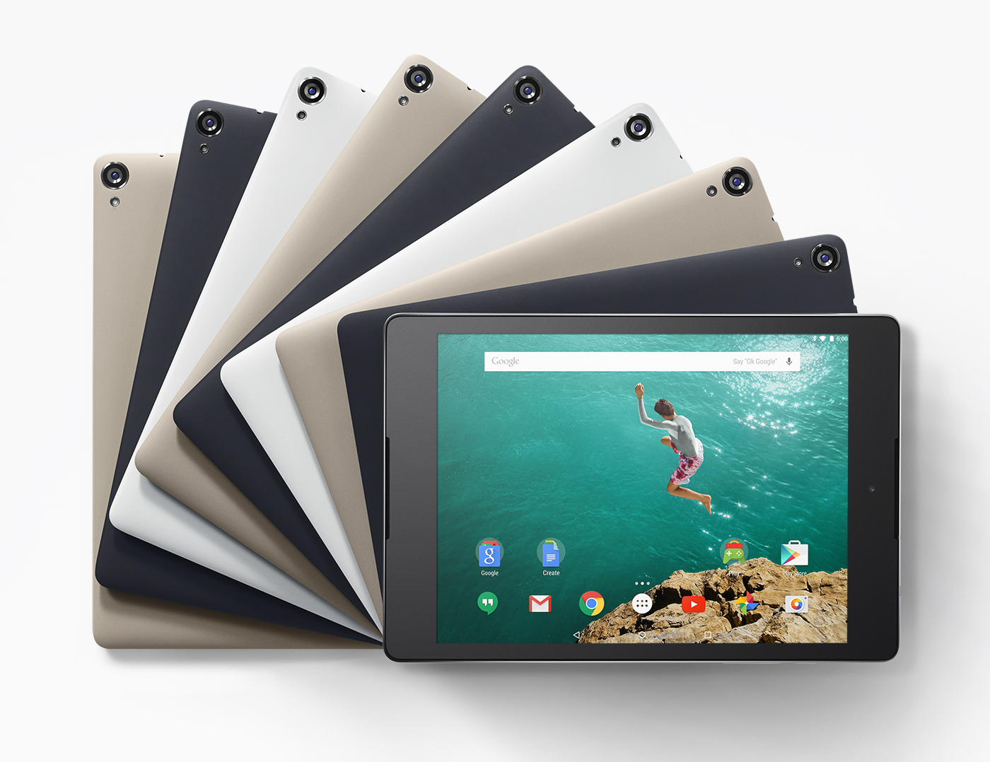 """Google Nexus 9 Wi-Fi - tablet z 8,9"""" ekranem Tegra K1 i Android 5.0 w sprze"""