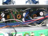 Wzmacniacz Monacor PA-4040 - sterowanie wentylatorem