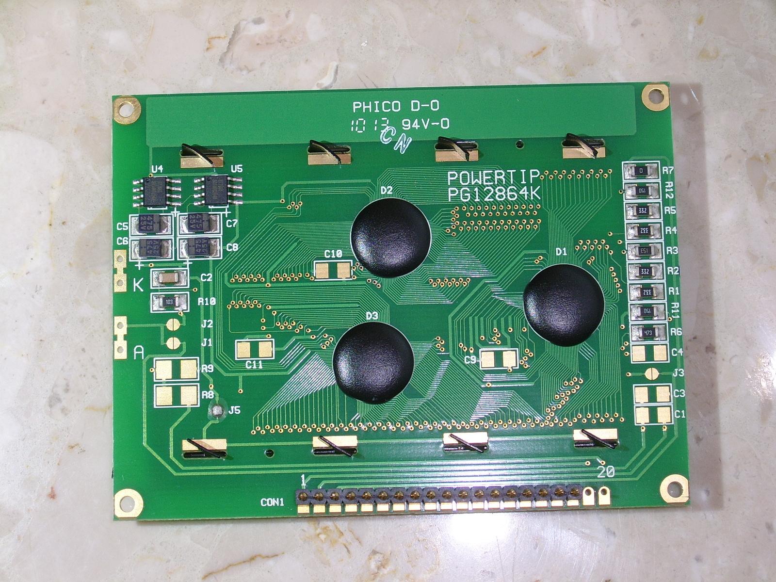 PG12864K - Pod�wietlenie ekranu - LCD Minelab Safari