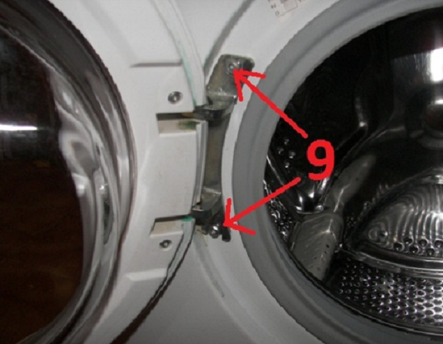 wymiana �o�yska w pralce Candy CY1 084