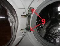 wymiana łożyska w pralce Candy CY1 084