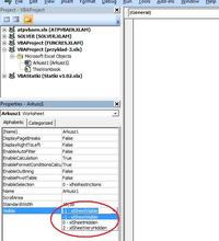 Excel - Pole wyboru - ustawienie statutu w zależności od zaznaczonego pola