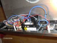 Mastercook M5E X-kontrolka ta co jest nad termostatem świeci mi tak przy przekrę