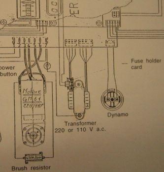 silnik komutatorowy hamowanie rezystorem