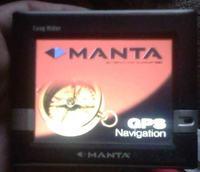 Manta GPS-060 Easy Rider- mapa