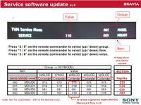 Sony TV KDL-40V5500 - Po wymianie płyty głównej wyłącza się - error 12
