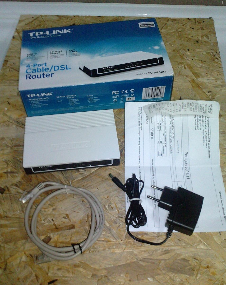 [Sprzedam] Router TP-LINK ROUTER TL-R402M