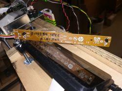 DIY konstrukcja druk atramentem na sklejce DTG