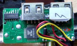 """Transmiter FB"""" z Bluetooth - identyfikacja wyjścia anteny."""