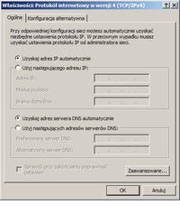 Udostepnienie internetu z komputera XP do routera TPLINK MR3220 i dalej po wi-fi