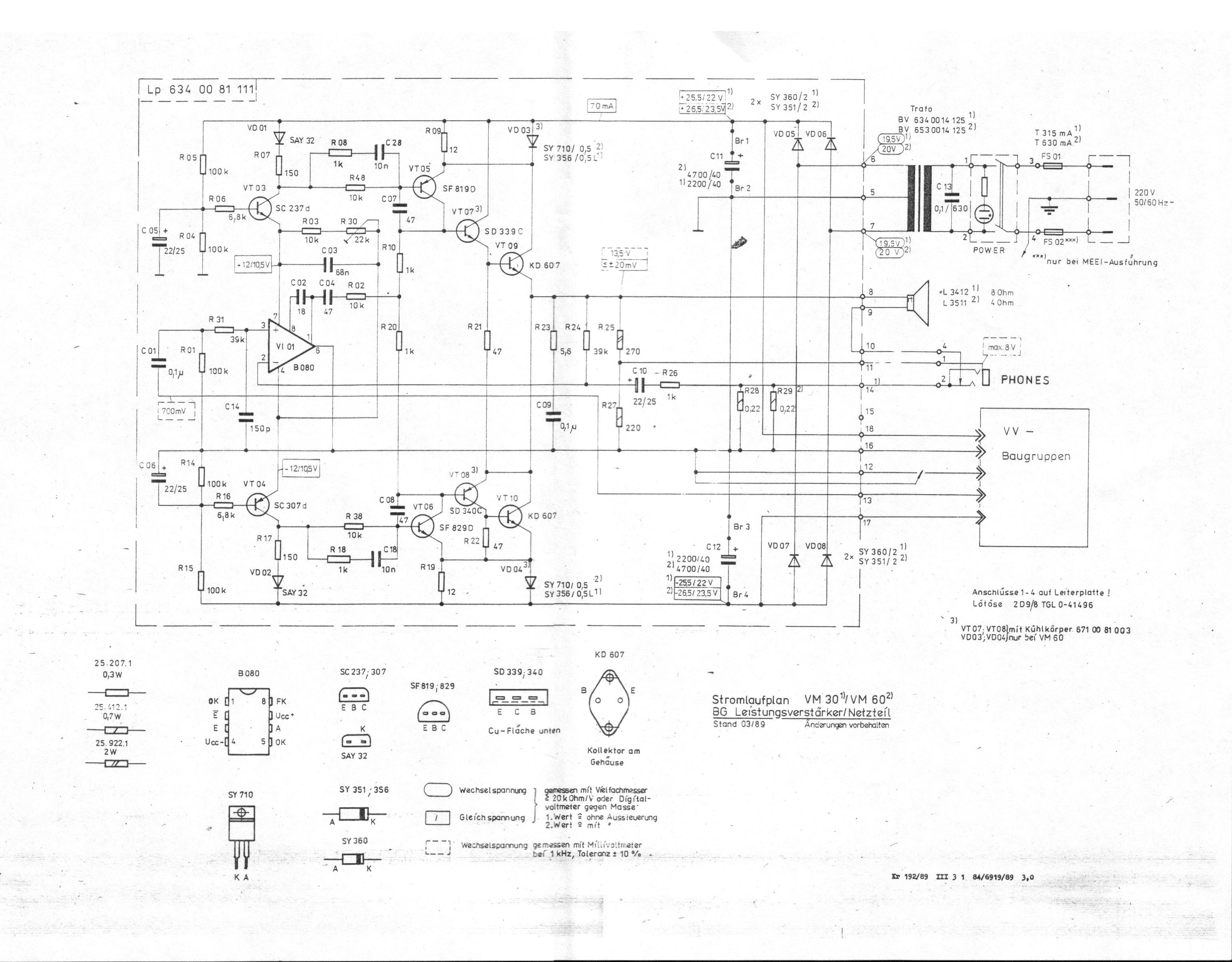 Vermona VM-60 i preamp lampowy na ecc82 - gdzie pod�aczy� preamp
