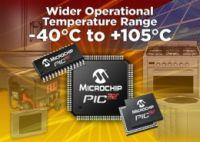 Microchip wprowadza 32-bitowe MCU PIC32 pracuj�ce od -40�C do 105�C