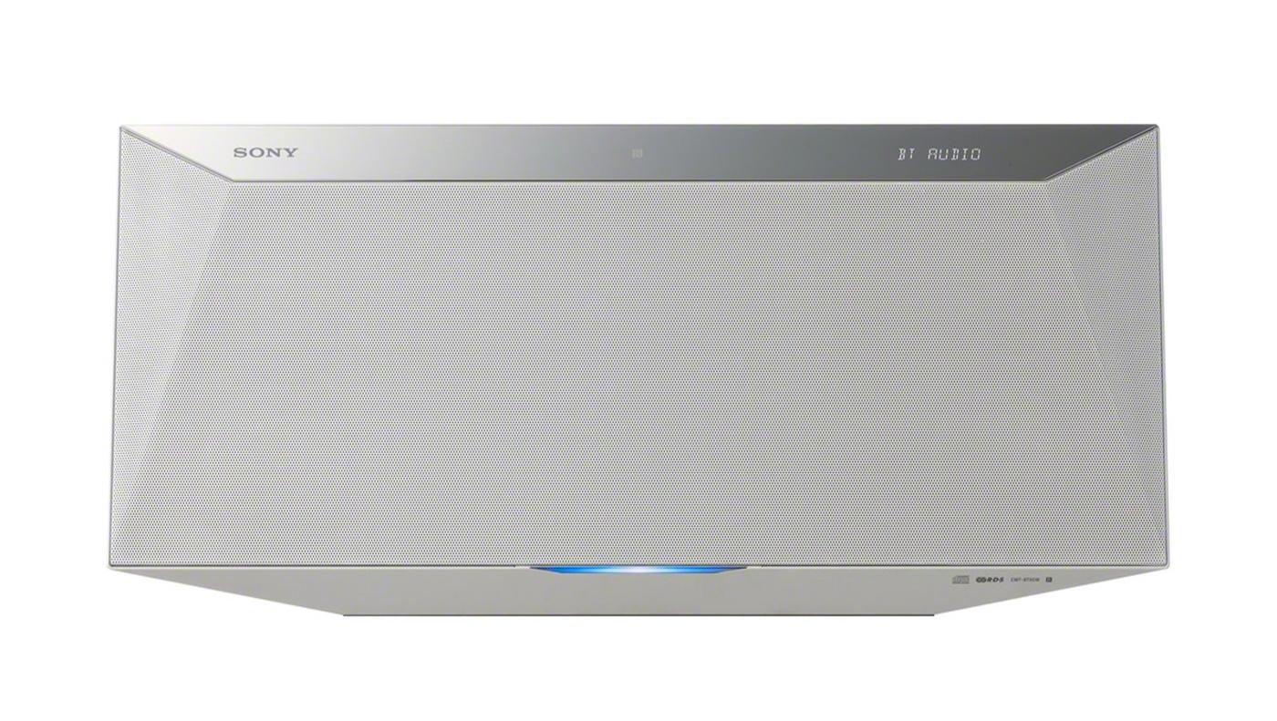 Sony CMT-BT80W - kompaktowy system audio z Bluetooth, NFC i Wi-Fi